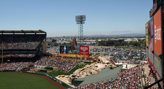 Incredible Views of OC and Angel Stadium