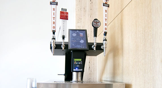 Cold Brew and Kombucha on Tap